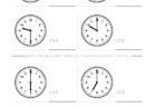 ここでは、小学1年生の算数単元「おおきさくらべ・とけい1」の問題を紹介しています。苦手な子が多い、時刻の読み方を求めていきます。針の位置による数値の読み方と時間の基礎を反復学習していきます。