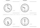 ここでは、小学1年生の算数単元「おおきさくらべ・とけい2」の問題を紹介しています。苦手な子が多い、時刻の読み方を求めていきます。針の位置による数値の読み方と時間の基礎を反復学習していきます。