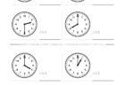 ここでは、小学1年生の算数単元「おおきさくらべ・とけい3」の問題を紹介しています。苦手な子が多い、時刻の読み方を求めていきます。針の位置による数値の読み方と時間の基礎を反復学習していきます。