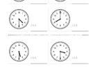 ここでは、小学1年生の算数単元「おおきさくらべ・とけい5」の問題を紹介しています。苦手な子が多い、時刻の読み方を求めていきます。針の位置による数値の読み方と時間の基礎を反復学習していきます。