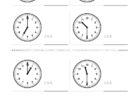 ここでは、小学1年生の算数単元「おおきさくらべ・とけい7」の問題を紹介しています。苦手な子が多い、時刻の読み方を求めていきます。針の位置による数値の読み方と時間の基礎を反復学習していきます。