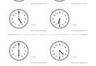 ここでは、小学1年生の算数単元「おおきさくらべ・とけい8」の問題を紹介しています。苦手な子が多い、時刻の読み方を求めていきます。針の位置による数値の読み方と時間の基礎を反復学習していきます。
