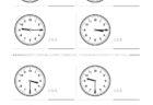 ここでは、小学1年生の算数単元「おおきさくらべ・とけい14」の問題を紹介しています。苦手な子が多い、時刻の読み方を求めていきます。針の位置による数値の読み方と時間の基礎を反復学習していきます。