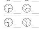 ここでは、小学1年生の算数単元「おおきさくらべ・とけい16」の問題を紹介しています。苦手な子が多い、時刻の読み方を求めていきます。針の位置による数値の読み方と時間の基礎を反復学習していきます。