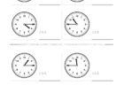 ここでは、小学1年生の算数単元「おおきさくらべ・とけい17」の問題を紹介しています。苦手な子が多い、時刻の読み方を求めていきます。針の位置による数値の読み方と時間の基礎を反復学習していきます。