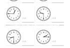 ここでは、小学1年生の算数単元「おおきさくらべ・とけい19」の問題を紹介しています。苦手な子が多い、時刻の読み方を求めていきます。針の位置による数値の読み方と時間の基礎を反復学習していきます。