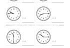 ここでは、小学1年生の算数単元「おおきさくらべ・とけい20」の問題を紹介しています。苦手な子が多い、時刻の読み方を求めていきます。針の位置による数値の読み方と時間の基礎を反復学習していきます。