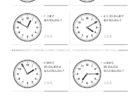 ここでは、小学1年生の算数単元「おおきさくらべ・とけい21」の問題を紹介しています。苦手な子が多い、時刻の読み方を求めていきます。針の位置による数値の読み方と時間の基礎を反復学習していきます。