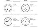 ここでは、小学1年生の算数単元「おおきさくらべ・とけい23」の問題を紹介しています。苦手な子が多い、時刻の読み方を求めていきます。針の位置による数値の読み方と時間の基礎を反復学習していきます。
