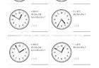 ここでは、小学1年生の算数単元「おおきさくらべ・とけい27」の問題を紹介しています。苦手な子が多い、時刻の読み方を求めていきます。針の位置による数値の読み方と時間の基礎を反復学習していきます。