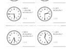ここでは、小学1年生の算数単元「おおきさくらべ・とけい28」の問題を紹介しています。苦手な子が多い、時刻の読み方を求めていきます。針の位置による数値の読み方と時間の基礎を反復学習していきます。