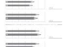 ここでは、小学1年生の算数単元「おおきさくらべ・ながさ1」の問題を紹介しています。それぞれを比較して長さの違いを求めていきます。生活の中で、長さという量を目で見て判断できる能力を養うことに役立つ学習です。
